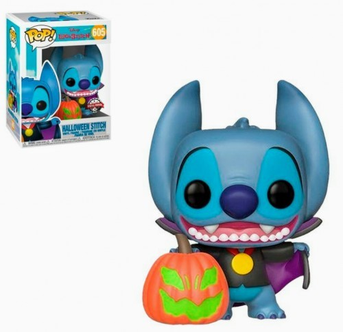 Funko Pop  Lilo E Stitch-stitch Halloween 605 (special Edition)-Lilo e Stitch-605