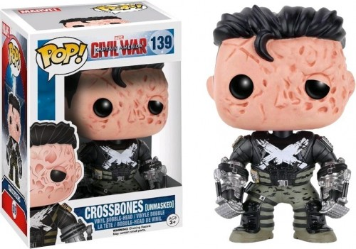 Funko Pop! Marvel - Guerra Civil - Crossbones Exclusivo - marvel - #139