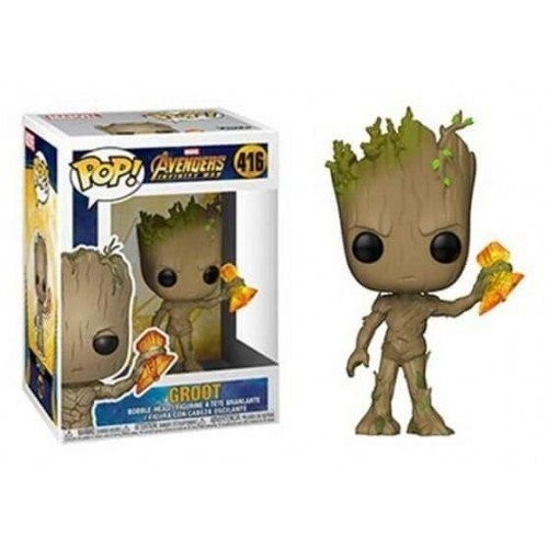 Funko Pop! Marvel - Guerra Infinita - Groot-marvel-416