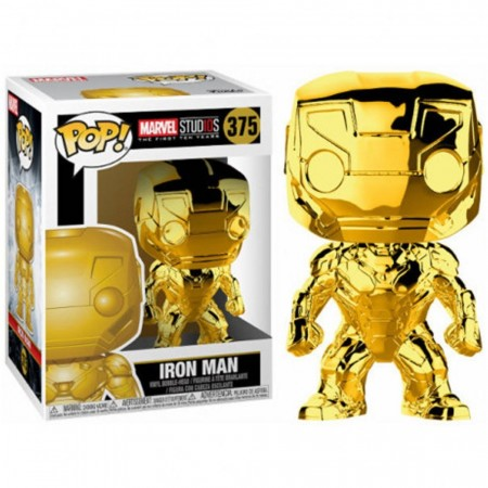 Funko Pop! Marvel - Iron Man - Homem De Ferro - Marvel Studios - #375