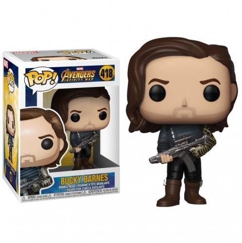 Funko Pop Bucky Barnes - marvel - #418