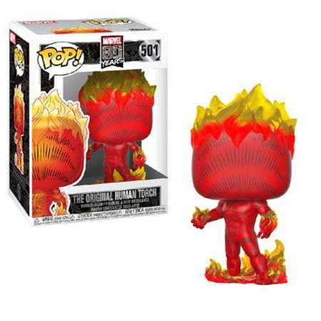 Funko Pop! The Original Human Torch-Marvel 80 Years-501