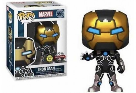 Funko Pop! Marvel Iron Man 80th (model 39) Glow Special Edition-Marvel Avengers-555