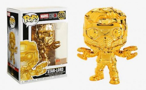 Funko Pop! Marvel Studios Star Lord Gold-Marvel Studios-353