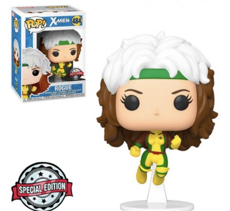 Funko Pop! Marvel X-men:rogue (flying) Especial Edition-X-Men-484
