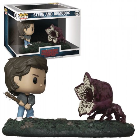 Funko Pop! Moments Steve And Demodog-Stranger Things-728
