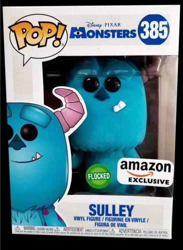 Funko Pop! Monsters S.a Sulley Flocado - Monstros S.A - #385