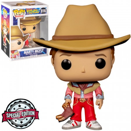 Funko Pop! Movies: Back To The Future - Marty Mcfly - Back To The Future - #816