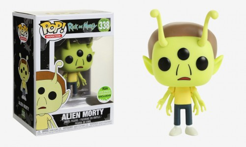 Funko Pop! Rick And Morty Alien Morty-Rick And Morty-338