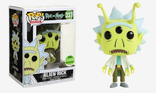 Funko Pop! Rick And Morty Rick Alien-Rick and Morty-337