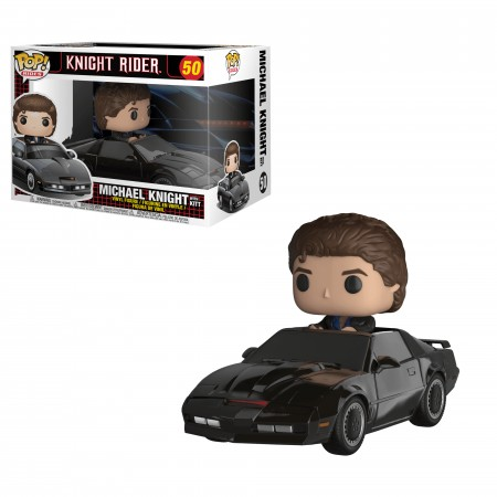 Funko Pop! Rides: A Super Maquina - Michael Knight With Kitt-Knight Rider-50