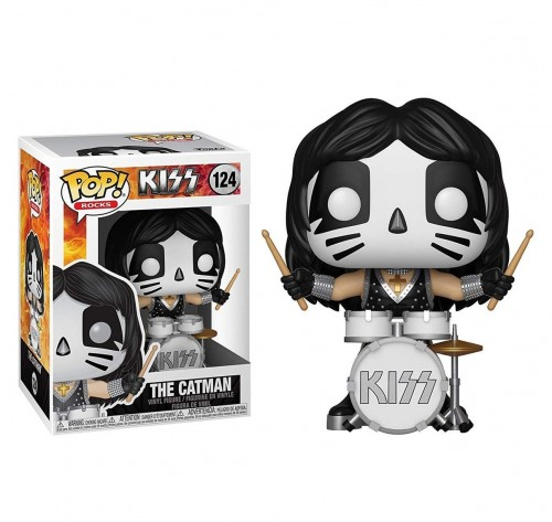 Funko Pop! Rocks - Kiss - The Catman-Rocks-124