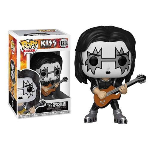 Funko Pop! Rocks - Kiss - The Spaceman-Rocks-123
