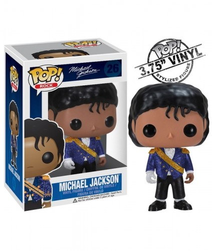 Funko Pop! Rocks - Michael Jackson Military-Rocks-26