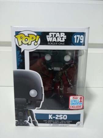 Funko Pop! Rogue One - K2so Exclusivo Nycc - Stars Wars - #179