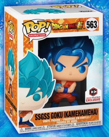Funko Pop! Ssgss Goku-Dragon Ball-563