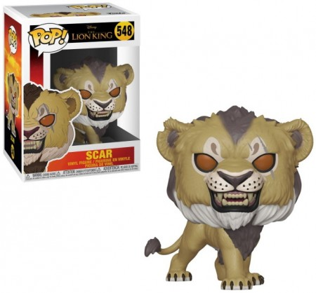 Funko Pop! Scar (live)-The Lion King.-548