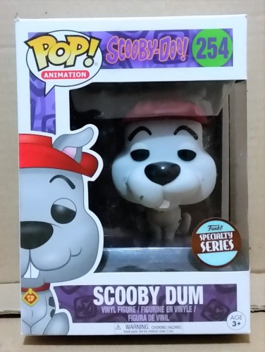 Funko Pop! Animation Scooby Doo Scooby Dum Exclusive Specialty Series-Scooby Doo-254