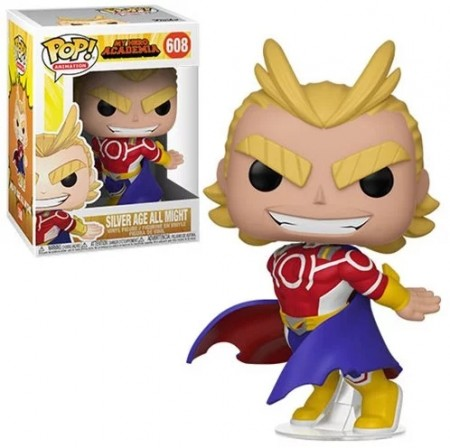 Funko Pop! Silver Age All Might-My Hero Academia-608