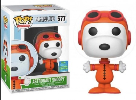 Funko Pop! Snoopy Astronauta Summer Convention 2019-Snoopy-577