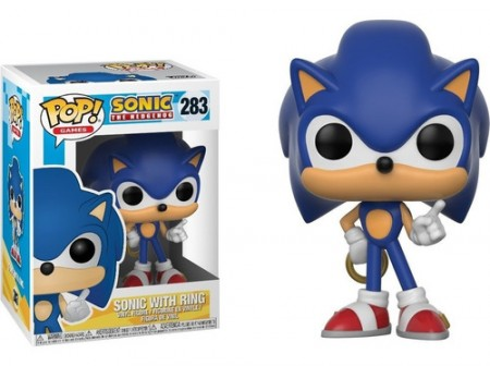 Funko Pop! Sonic With Ring-Sonic The Hedgehog-283