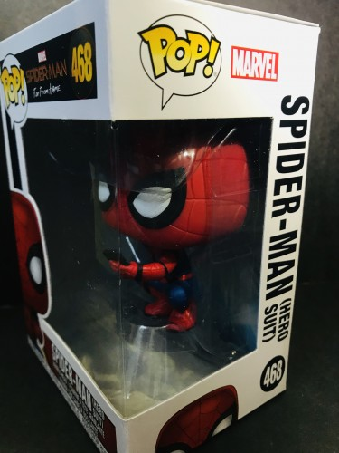 Funko Pop! Spider Man Far From Home ( Hero Suit ) - Spider-man Far From Home - #468