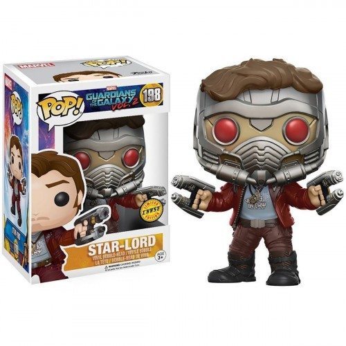 Funko Pop! Star-lord - Chase-Guardiões da Galáxia-198