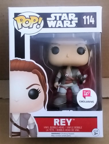 Funko Pop! Star Wars Rey Outfit Tfa Exclusive Walgreens - Star Wars - #114