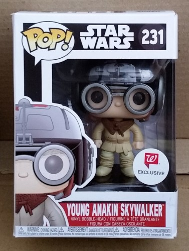 Funko Pop! Star Wars Young Anakin Skywalker Exclusive Walgreens - Star Wars - #231