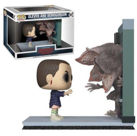 Funko Pop! Stranger Things: Eleven And Demogorgon  - Movie Moments-Stranger Things-727