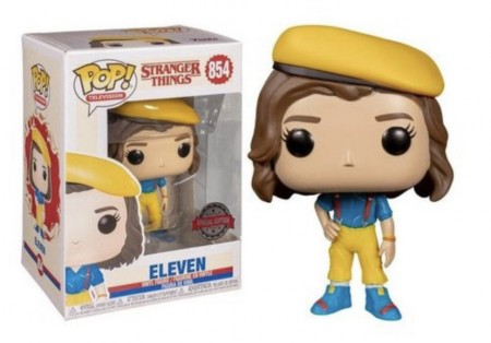 Funko Pop! Stranger Things: Eleven Yellow Outfit Special Edition-Stranger Things-854