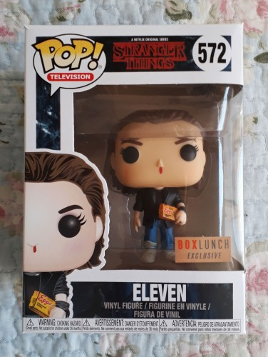 Funko Pop! Stranger Things Eleven Punk Rock Exclusive Boxlunch-Stranger Things-572