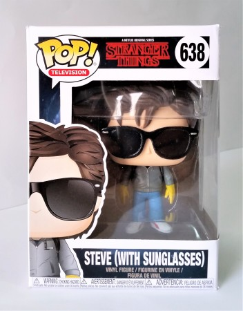 Funko Pop! Stranger Things Steve With Sunglasses-Stranger Things-638
