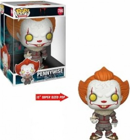 Funko Pop! Super Sized Pennywise 10''-It - A coisa-786