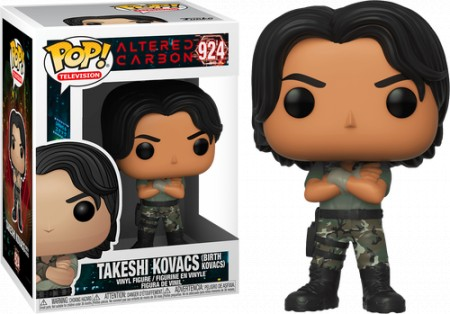 Funko Pop! Television: Altered Carbon - Takeshi Kovacs - Altered Carbon - #924