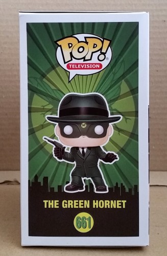 Funko Pop! Tv The Green Hornet Exclusive Specialty Series - O Besouro Verde - #661