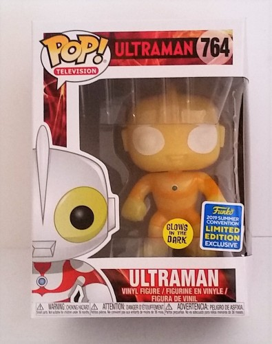 Funko Pop! Tv Ultraman Glow In The Dark Exclusive Sdcc Summer Convention-Ultraman-764