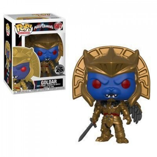 Funko Pop! Television - Power Rangers - Goldar-Power Rangers-667