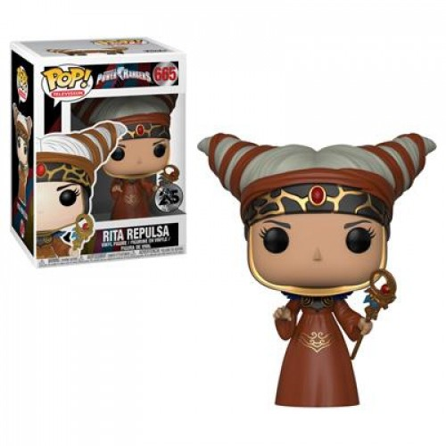 Funko Pop! Television - Power Rangers - Rita Pepulsa-Power Rangers-665