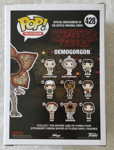Funko Pop! Television Demogorgon Chase Edition - Stranger Things - #428