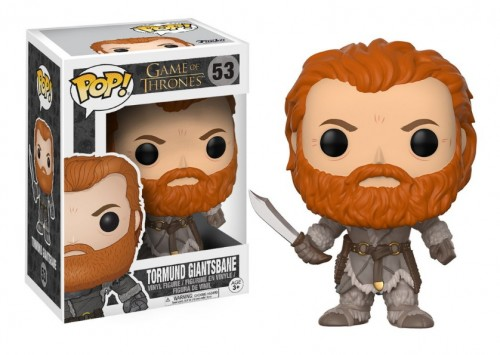 Funko Pop! Tormund Giantsbane - Game of Thrones - #53