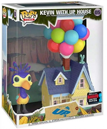 Funko Pop! Town: Up - Kevin With Up House Exclusivo New York Comic Con 2019-Pixar-5