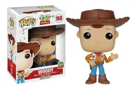 Funko Pop! Toy Story 20th Anniversary: Woody #168-Toy Story-168