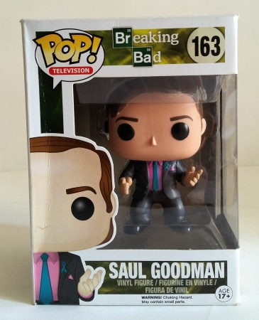 Funko Pop! Tv Breaking Bad Saul Goodman-Breaking Bad-163