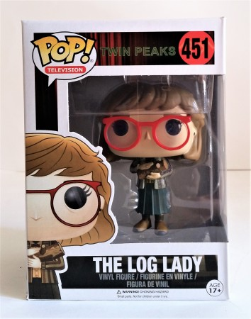 Funko Pop! Tv Twin Peaks The Log Lady A Senhora Do Tronco-Twin Peaks-451