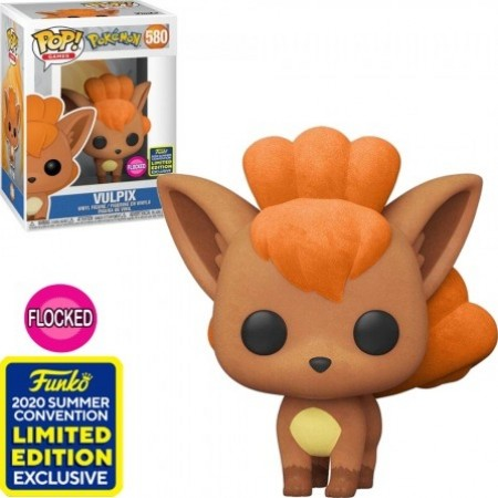 Funko Pop! Vulpix Flocked-Pokemon-580