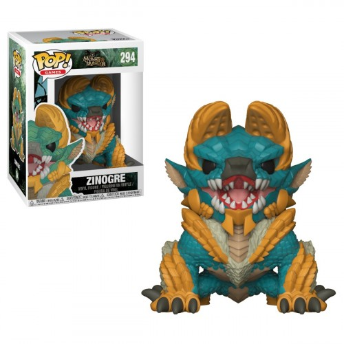 Funko Pop! Zinogre - Monster Hunter - Monster Hunter - #294