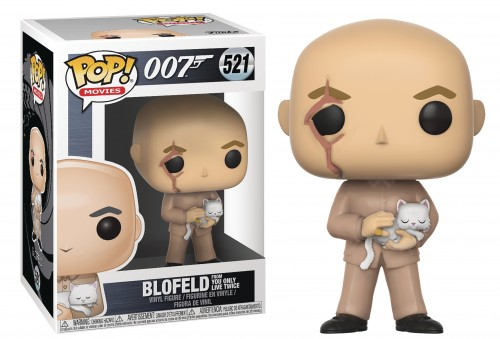 Funko Pop 007 James Bond Blofeld From You Only Live Twice-007 James Bond-521