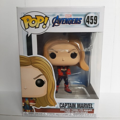 Funko Pop Avengers Captain Marvel #459-Avengers Endgame-1