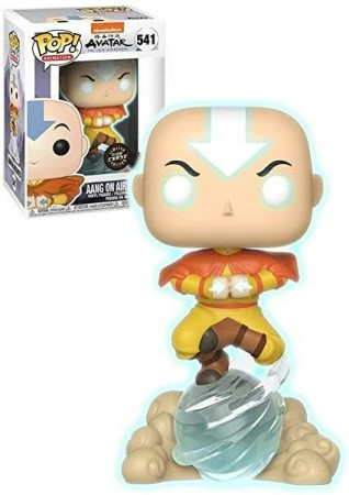 Funko Pop Aang On Airscooter Chase-Avatar: The Last Airbender-541
